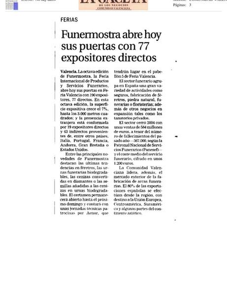 Periódico La Gaceta de los Negocios