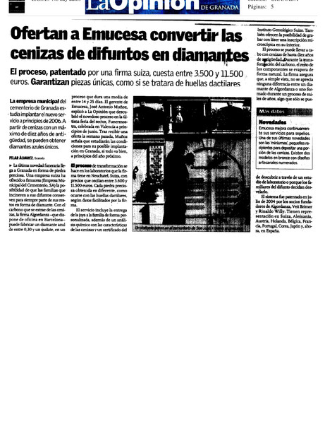 Periódico La Opinión de Granada
