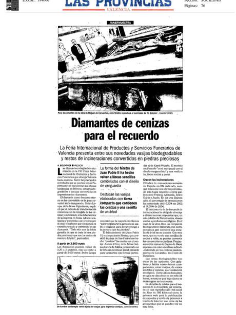 Periódico Las Provincias Valencia