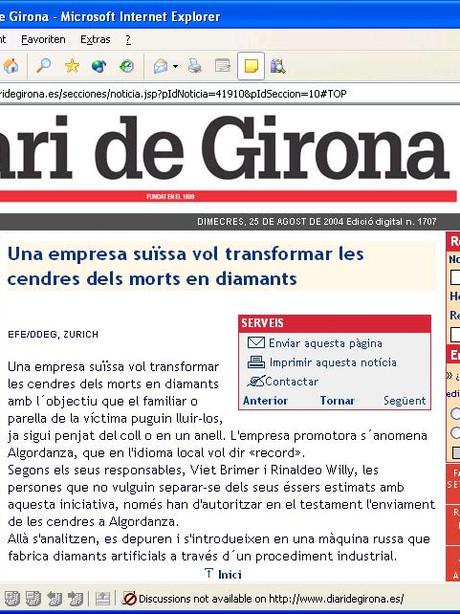 Periódico Diari de Girona