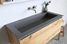 Kraft quartz beton 100 cm - fineer natur