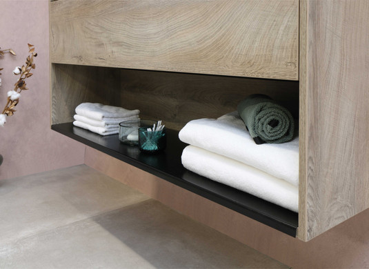 Wastafel porselein elegant 120 cm enkele