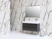 Unlimited blank hvid - mat antracit