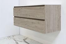 onderkast houten keerlijst greige 120 cm