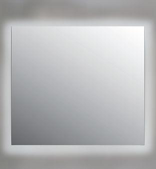 Spiegel LED rondom zonder gematteerde ra