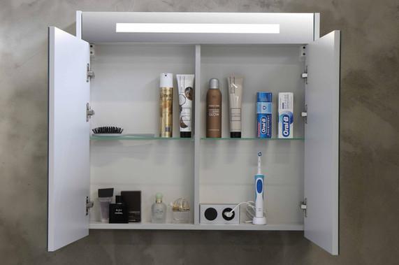 Spejlskab Premium med LED belysning