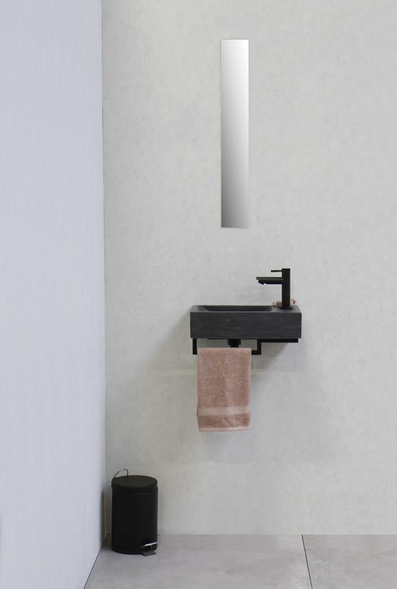 Fontein hardsteen Loft - stalen frame -