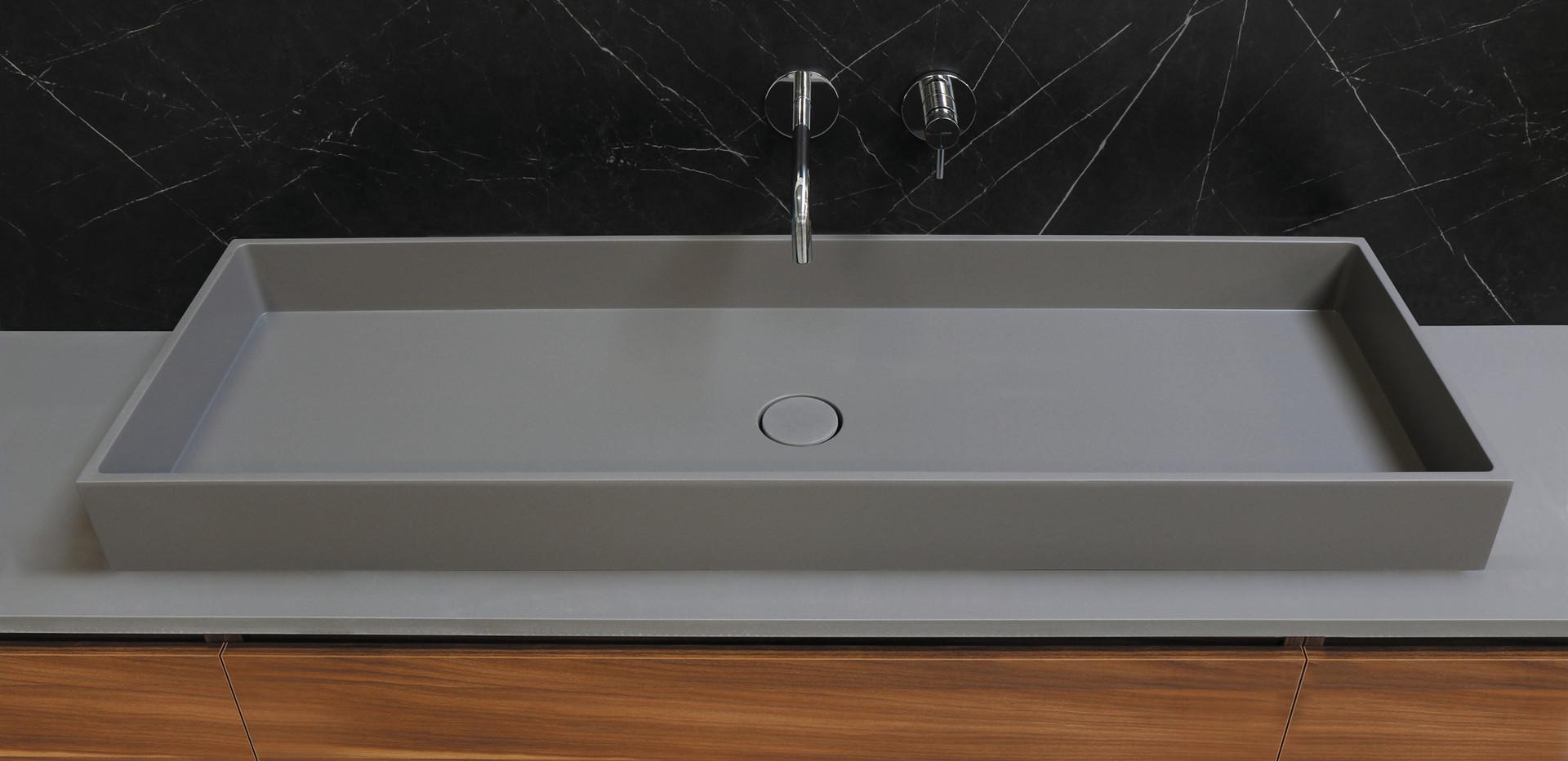 bliss dogma - quartz beton - 1200 x 400