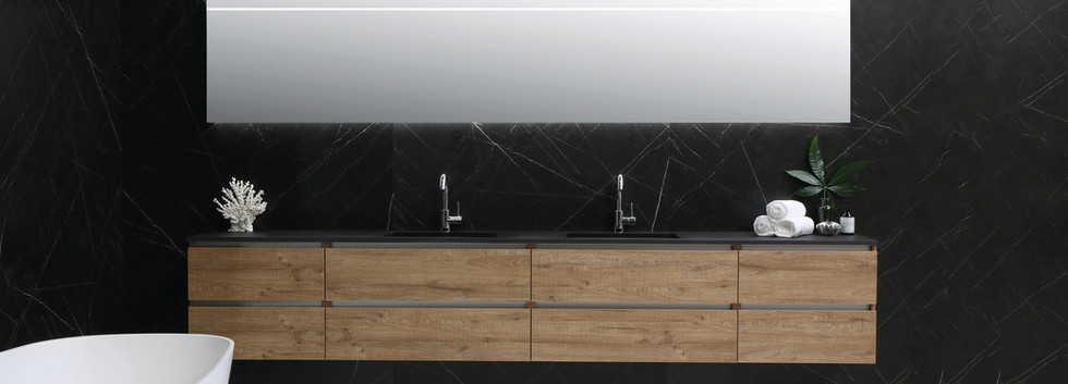 Bliss cargo dubbel quartz zwart 300 cm -