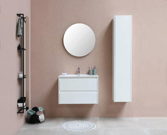 Rundt spejl fra 60 til 120 cm