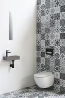 Versus quartz beton - fonteinpack mat zwart