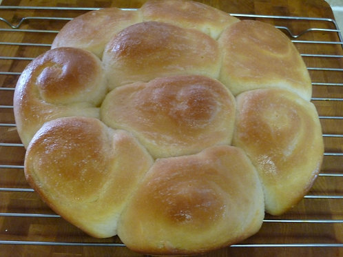 Amish Sourdough Dinner Rolls