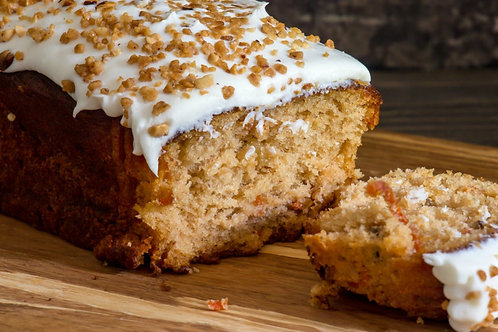 Carrot Cake Bread Loaf