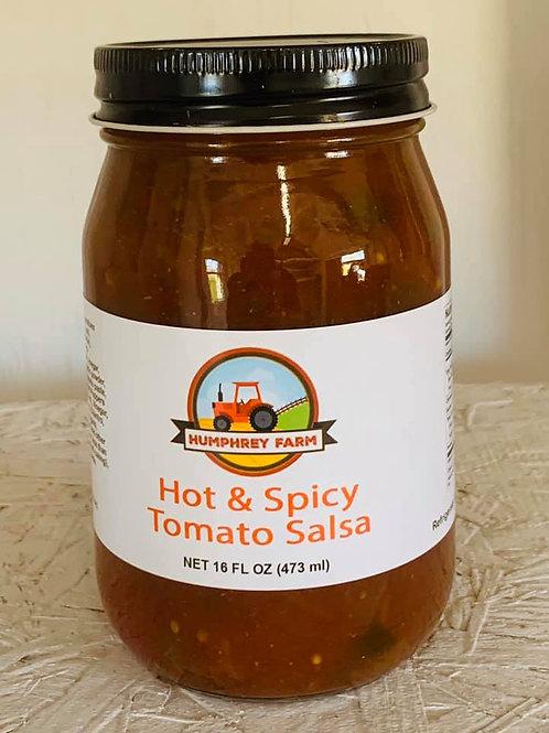 Hot & Spicy Tomato Salsa