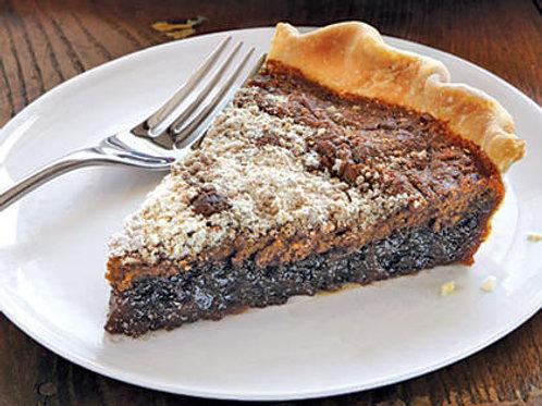Homemade Amish Shoofly Pie