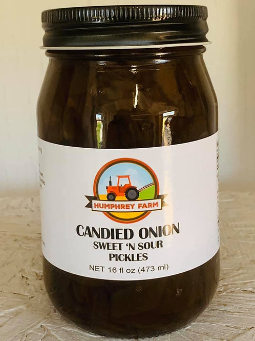Candied Onion Sweet 'n Sour Pickles