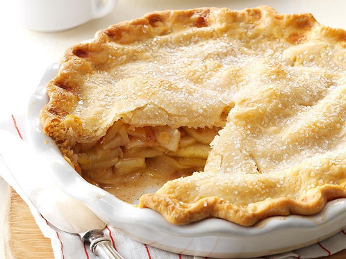 Homemade Amish Apple Pie
