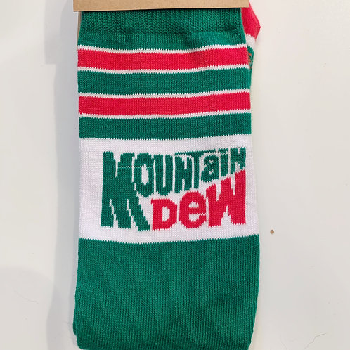 Mt Dew Cool Socks
