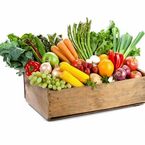 (Sample Picture ONLY!) Basic Veggie Box