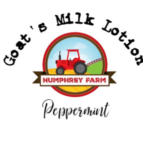 Goats Milk Lotion - Peppermint