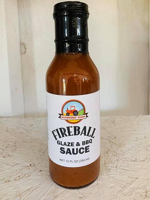 Fireball Glaze and Hot Sauce, 12 fluid ounces