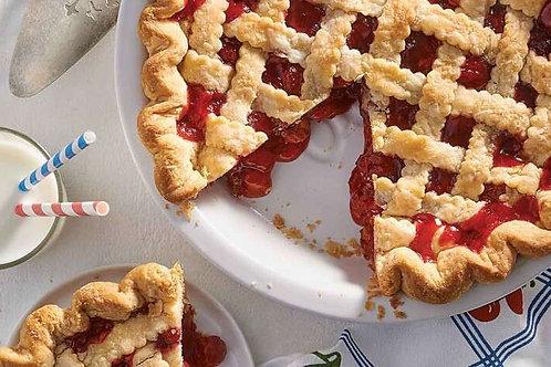 Homemade Amish Cherry Pie