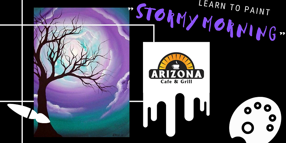 Sip 'n' Paint - 'Stormy Morning'