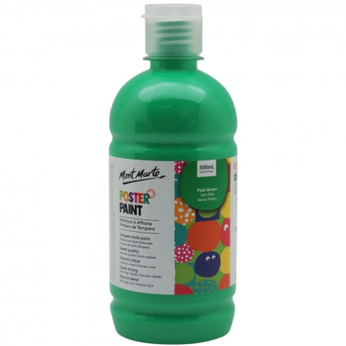 MM Poster Paint 500ml - Pale Green (6 pack)
