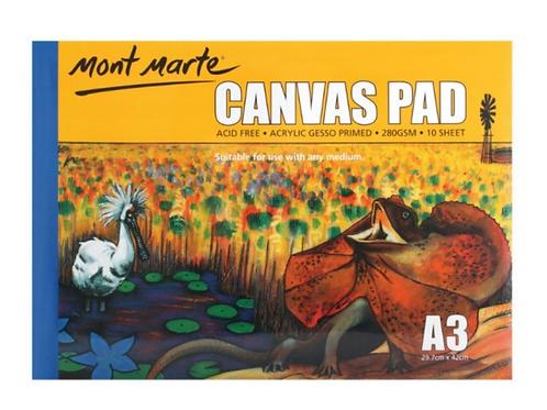A3 Canvas Pad