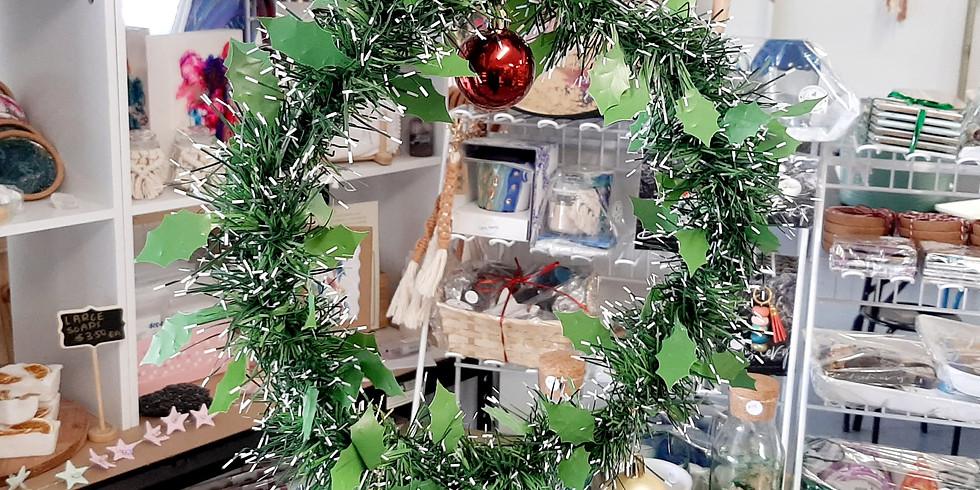 GOODNA - STUDIO - ALL AGES - Chrtistmas Wreath Making