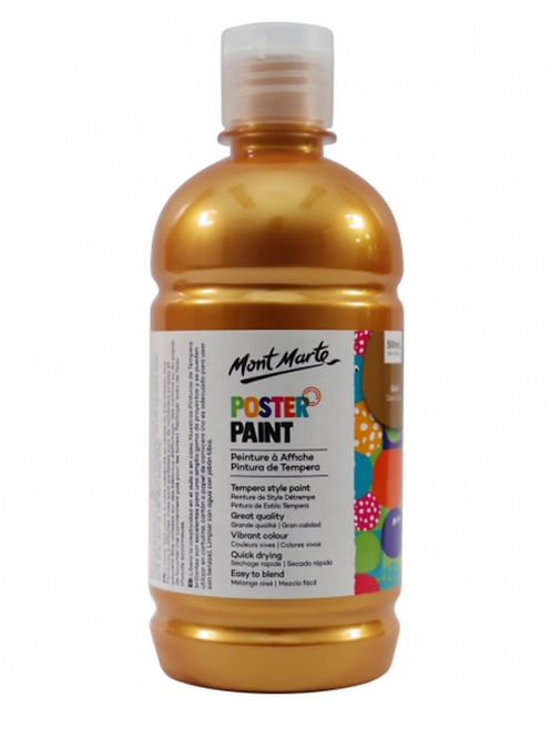 Poster Paint 500ml - Gold