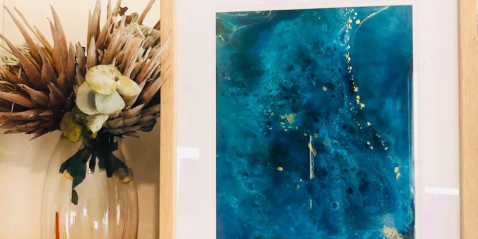 GOODNA - STUDIO - Make 2 resin art frames