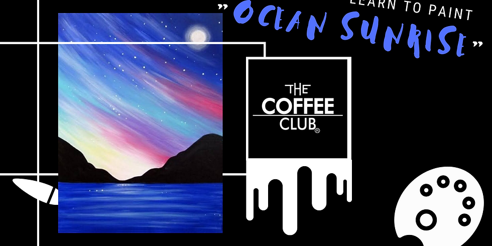 Lets paint  - 'Ocean Sunrise'