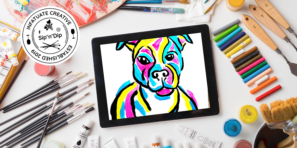 GOODNA - Learn to paint your pet  CMYK colours