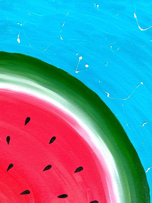 Learn to Paint Watermelon 'Paint at home Pack'