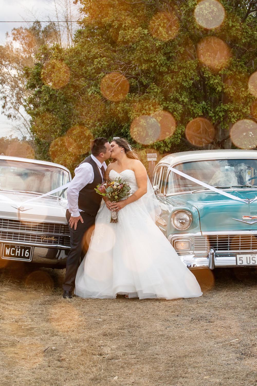 Rustic wedding Photography - golden hours