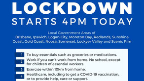 3 DAY COVID LOCKDOWN PROTOCOL (Commencing 4pm 31st July 2021)