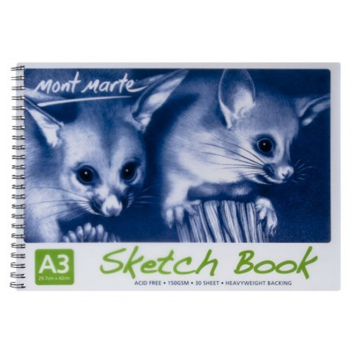 Sketch Book 150gsm A3 30 Sheet
