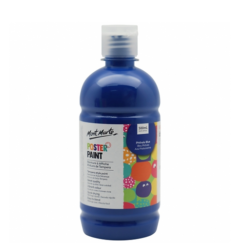 Poster Paint 500ml - Phthalo Blue