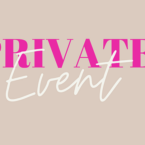 PRIVATE EVENT -  NOOSAVILLE - SIP AND PAINT - (Booked by Letitia Vion)