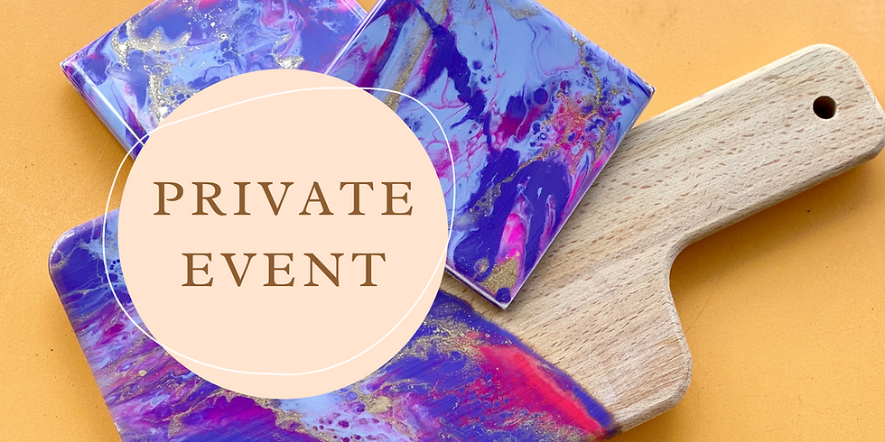 PRIVATE EVENT - TOOWOOMBA - (BOOKED BY CARLA KENNARD)
