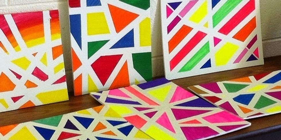 Art for Kids - Kids Meal + Shake + Art Class