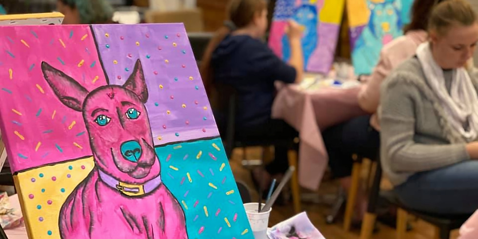 Moselles - Paint your pet Andy Warhol Style