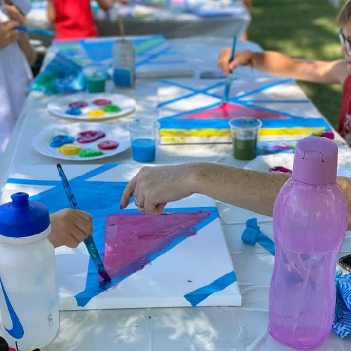 SPRINGFIELD - Learn to paint class - All Ages - Kids Tape 'n' Paint Class