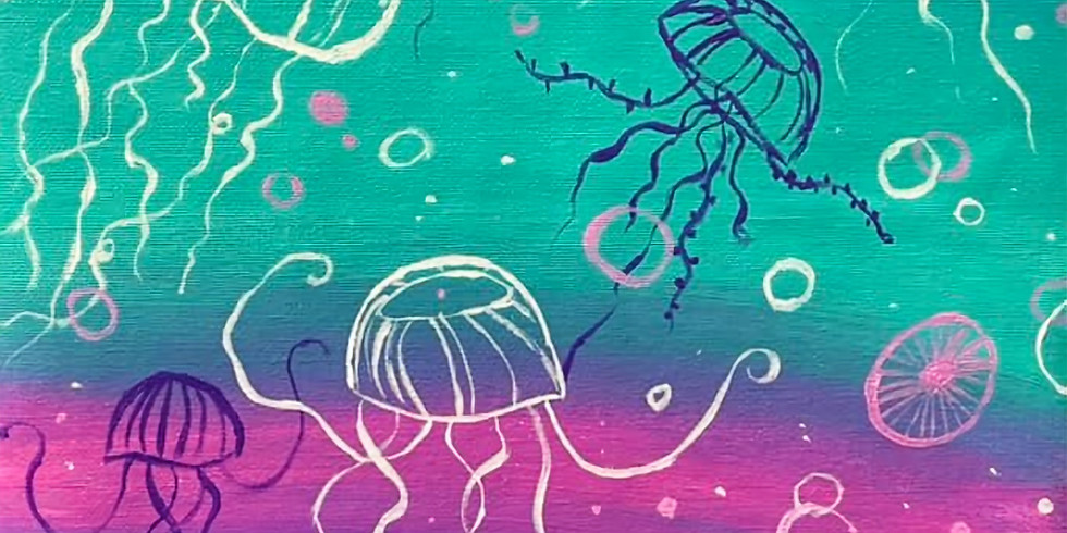 SPRINGFIELD - ORION - Sip and Paint Jellyfish!