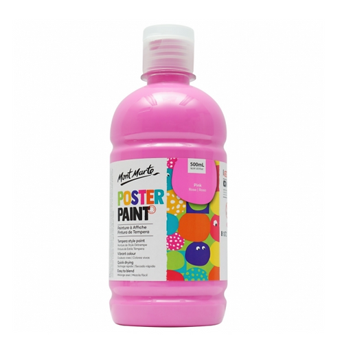 Poster Paint 500ml - Pink