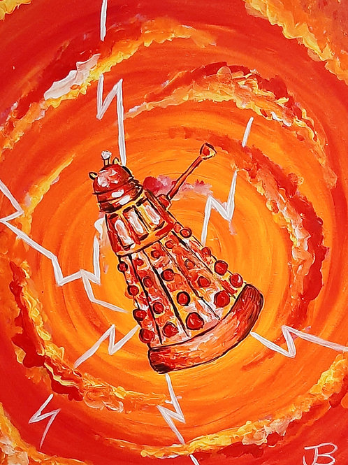Learn to paint Darlek 'Paint at home Pack'