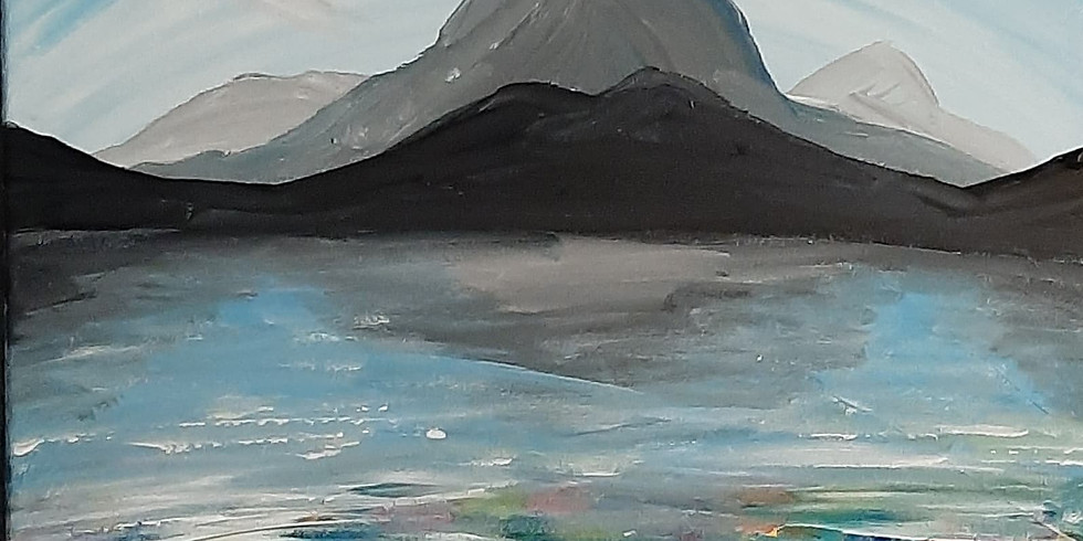 SPRINGFIELD - Orion - Learn to paint 'Pebble Fjord'!
