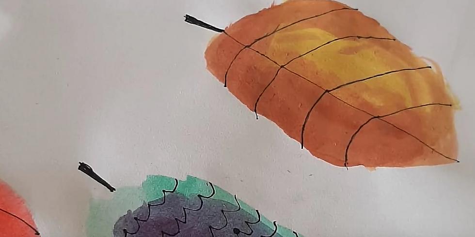 BALD HILLS - LA ZUCCA - Kids School Holidays Workshop 'Learn to paint watercolours'
