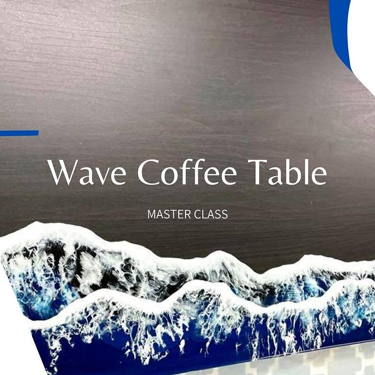STUDIO - JAANA - Resin Master Class - Wave Coffee Table